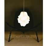 Green Elements Oblong Ceiling White Lampshades