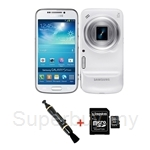 Samsung Galaxy S4 zoom SM-C1010 FREE Original Flip Cover + Lenspen + Kingston 8GB Micro SD Class 4