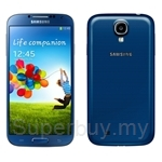 Samsung Galaxy S4 I9500- 1.6GHz Quad + 1.2GHz Quad CPU Speed [16GB] (Blue Arctic)