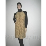 Al Ikhwah Modest Fit Full Cover Swimsuits (Baju Renang Muslimah)~Pretty Brown