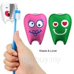 Flipper 2P Toothfairy Kisses and Lover Toothbrush Holder