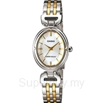 Casio Standard Analog: Lides, Petite Feminine Design Watch - LTP-1374SG-7A July 2013 Model