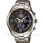 Casio Edifice: Chronograph, 3D Hour Markers Watch - EFR-529D-1A2V July 2013 Model