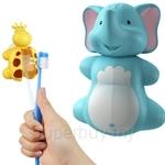 Flipper Fun Animal Elephant Toothbrush Holder - EE-1330E