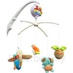 Simple Dimple Elephant Clip-on Battery Operated Musical Mobile - SD3843