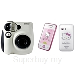 Samsung Galaxy Y Kitty + Fujifilm Instax Mini 7s Panda