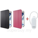 Belkin Note 8 Casing + Samsung HM3300 White Bluetooth Headset - BK-NOTE-8-FOLIO+SSG-BHM3300-WH