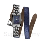 Guess W0053L3 Ladies Trend Blue Leather Watch