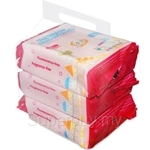 Farlin Wet Wipe for Hand and Mouth 150 x 200mm (28pcs x 3 packs) - DT-009-3