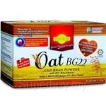 Biogrow Oat BG22 Oat Bran Powder with 20% Beta-Glucan Travel Pack (9g x 30 Sachets)