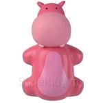 Flipper Fun Animal Hippo Toothbrush Holder - EE-1330HP
