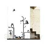 IR Animal Wall Deco Sticker - Forest Friend(70cmx50cm)