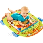 Bright Starts Tummy Cruiser Prop and Play Mat - BBBS9300