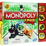 MONOPOLY Junior Board Game - A6984