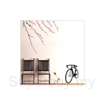 IR Tree Wall Deco Sticker - Cherry Blossom Sakura (50cmx70cm)
