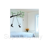 IR Tree Wall Deco Sticker - Swing (50cmx70cm)