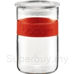 Bodum Presso Storage Jar 0.6L 20 oz Red - 11129-294