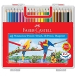 Faber Castell Watercolour Pencil Wonder Box of 48 Long - 114568