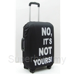 Gardini Spandex Luggage Cover Black