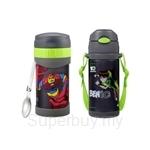 Thermos 500ml Ben10 Food Jar with Spoon FREE 360ml Ben10 Ice Cold Bottle - JMG-502BEN + FEQ-400BEN
