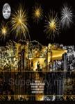 流金歲月(Hong Kong香港)靜念‧沉澱刮刮畫(內附金色刮刮畫2張(印刷城市圖1張+無圖案1張)+靜念‧沉澱著色畫1張+木質刮畫棒1支))