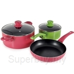 ASD Color Series 5Pc Pots & Pans Set - HP182424SET