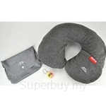 Slazenger Neck Pillow with Ear Plugs - SZ7060