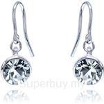 Kelvin Gems Glam Veda Light Hook Earrings