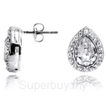 Kelvin Gems Glam Angelic Stud Earrings