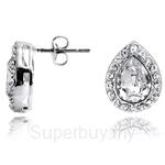 Kelvin Gems Glam Angelic Stud Earrings
