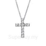 Kelvin Gems Holy Cross Pendant Necklace