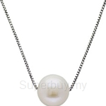 Kelvin Gems Classic Only You Fresh Water Pearl Pendant Necklace Crafted by Angie