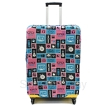 Gardini Spandex Luggage Cover - LCS396-PP-XL