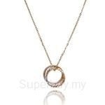 Kelvin Gems Multiway Trinity Necklace