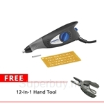 Dremel Engraver 290-1 with 1pc Engraving Template - F0130290JN