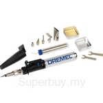 Dremel 2000-6 Versatip Butane Gas Torch with 6 Inter-changeable Tips - F0132000JA