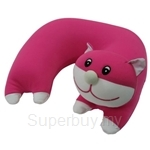 Arnold Palmer Animals Travel Pillow Cat Shape - E554-PK