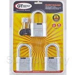 GT Benz 3-in-1 Pack Alarm Padlock - GT-205-3