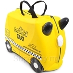 Trunki Tony The Taxi Toddler 3-in-1 Ride-On Suitcase