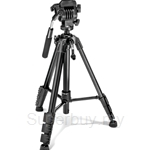 Primaphoto Video Small Tripod Kit Black with Video Head & Bag - PHKV001