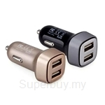 Momax UC 4-Port USB Car Charger (3.4A) - UC4