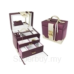 Bello & Beo APPELA Jewellery Case - PUR.GY.2W-JR