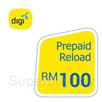 Digi Prepaid Reload RM100