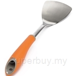 Chefology Swiss Solid Steel Turner with Handle - CF-JG5385BK-OR
