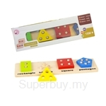 GeNz Kids Shapes & Numbers Learning Board