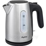 Phyliss 1L Stainless Steel Jug Kettle - PKS-1010