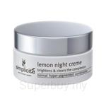 Simplicite Lemon Night Creme (55 gm)