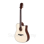 Amari 41 inch AM-418C Acoustic Guitar Natural