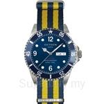 OXYGEN EX Diver Atlantic 40 Nato Nylon Navy Yellow