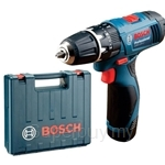 Bosch GSB 1080-2LI Professional Cordless Impact Drill (with 1 Battery & Charger + 100 Accessories) - 06019F30L5